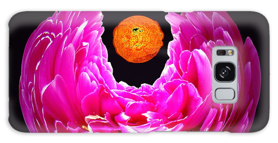 Peony Galaxy Case featuring the photograph Peony Sun by Merja Waters