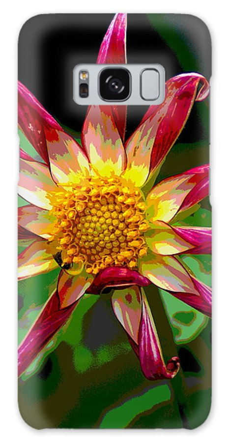 Flowers Galaxy S8 Case featuring the photograph Peppermint Sunburst 2 by Ben Upham III