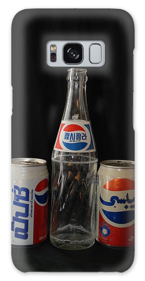 Korean Galaxy S8 Case featuring the photograph Pepsi From Around The World by Rob Hans