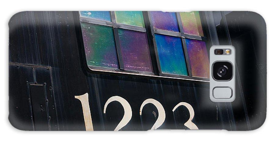 3scape Galaxy S8 Case featuring the photograph Pere Marquette Locomotive 1223 by Adam Romanowicz