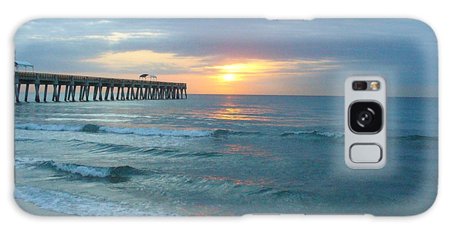 Water Galaxy S8 Case featuring the photograph Perfect Peace At 6 A.m. by Peggy King