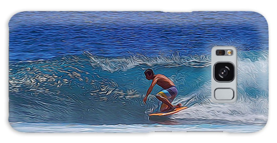 Waves Galaxy S8 Case featuring the photograph Perfect Ride by Pamela Walton