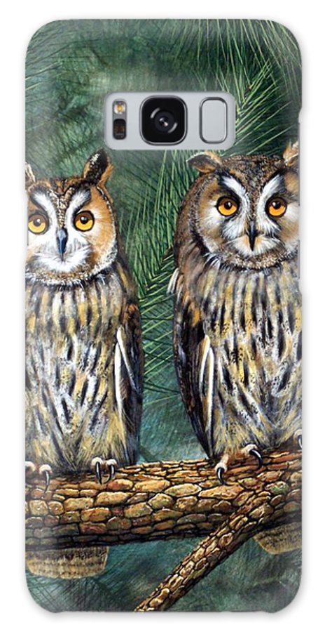 Wildlife Galaxy S8 Case featuring the painting Perfect Strangers by Frank Wilson