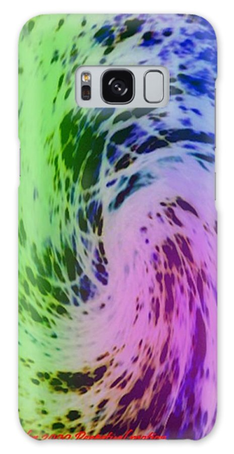 Abstract Galaxy S8 Case featuring the digital art Perpetual Motion by Dr Loifer Vladimir