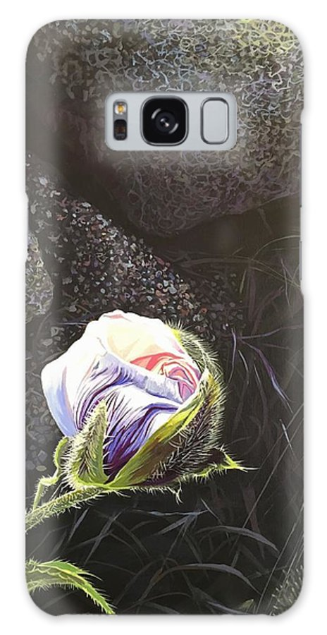 Poppy Galaxy Case featuring the painting Persistence by Hunter Jay