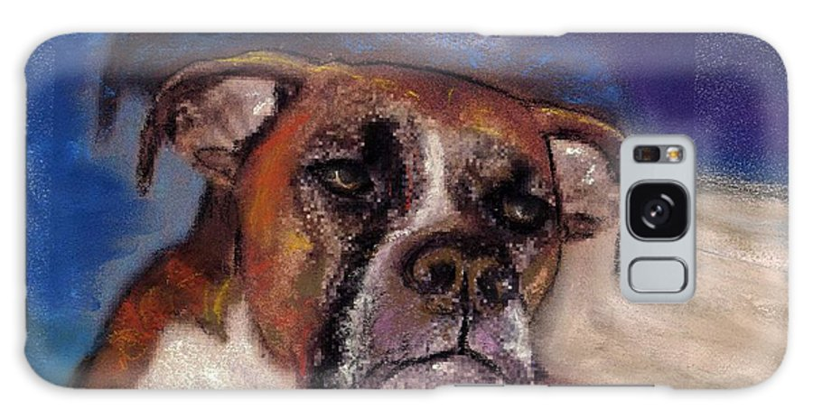 Pastel Pet Portraits Galaxy S8 Case featuring the painting Pet Portraits by Darla Joy Johnson