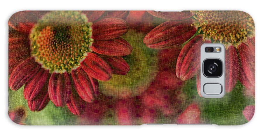 Mixed Media Galaxy S8 Case featuring the photograph Petals On Parade by Bonnie Bruno