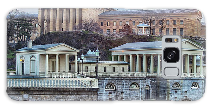Philadelphia Galaxy S8 Case featuring the photograph Philadelphia Art Museum At The Water Works by Tom Gari Gallery-Three-Photography