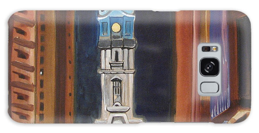 Landmarks Galaxy S8 Case featuring the painting Philadelphia City Hall by Patricia Arroyo