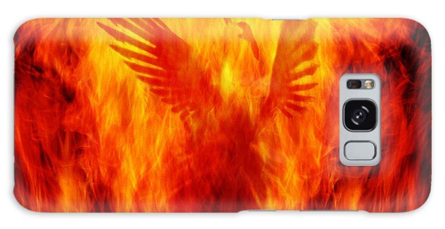 Phoenix Galaxy S8 Case featuring the photograph Phoenix Rising by Andrew Paranavitana