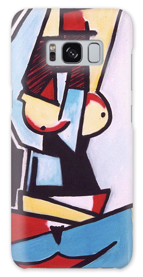 Picasso Galaxy S8 Case featuring the painting Picasso by Thomas Valentine