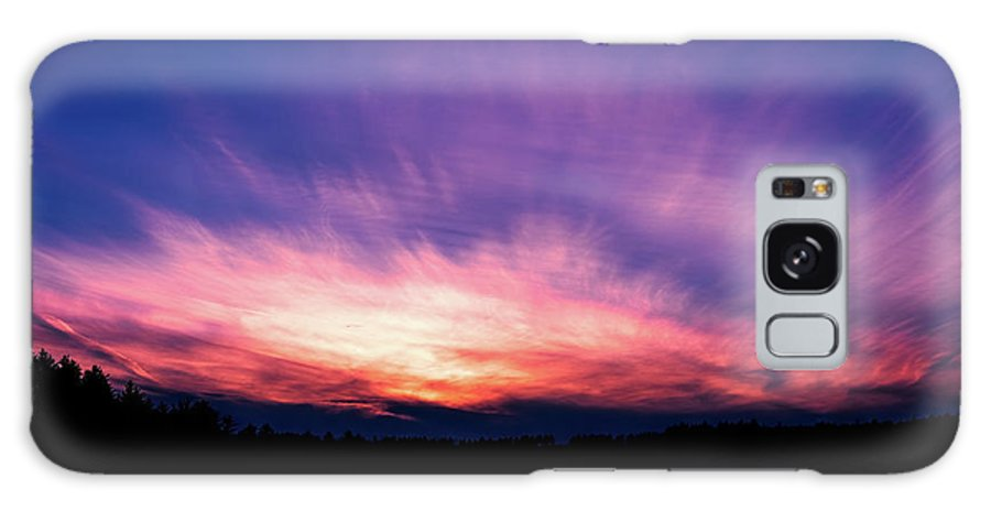 Sunset Galaxy S8 Case featuring the photograph Pickerel Lake by Scott Norris