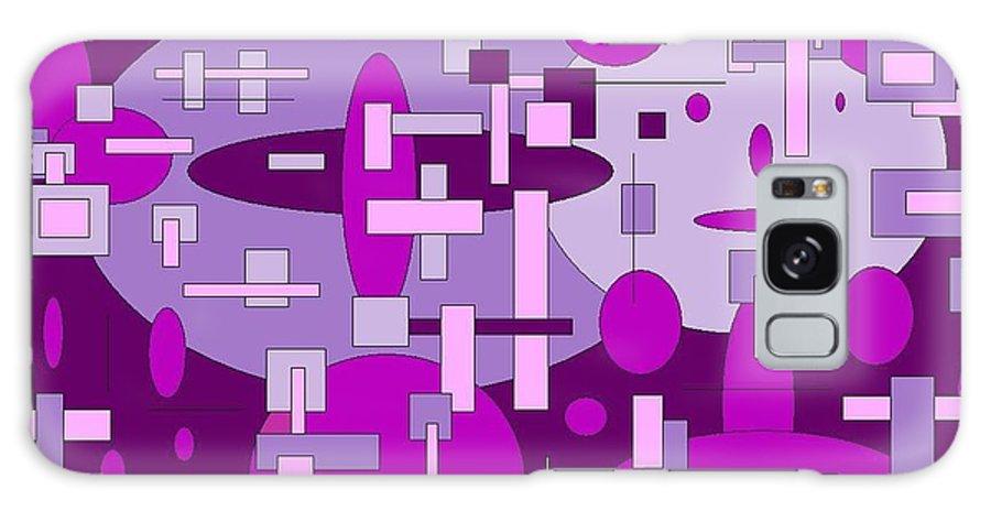 Digital Artwork Galaxy S8 Case featuring the digital art Piddly by Jordana Sands