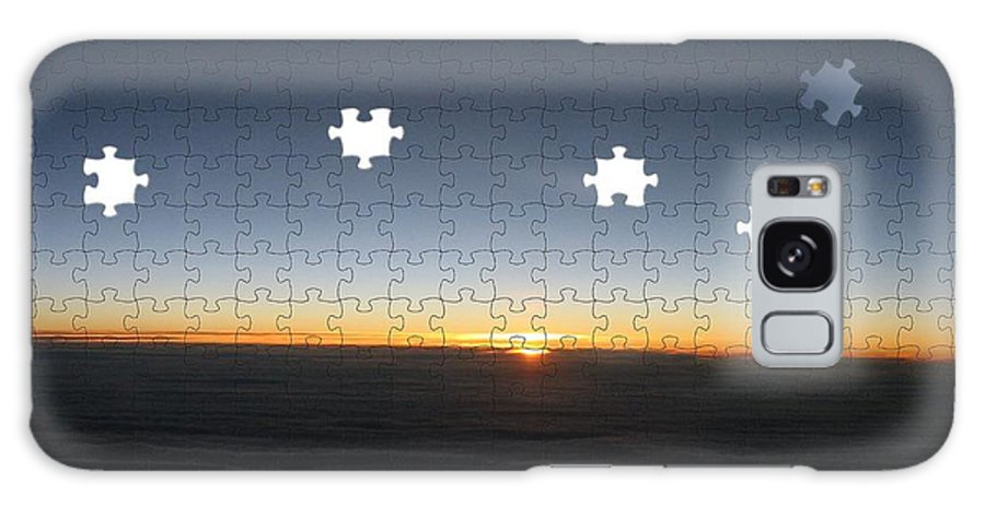 Sunrise Galaxy S8 Case featuring the photograph Piecing Together A New Day by Tim Allen