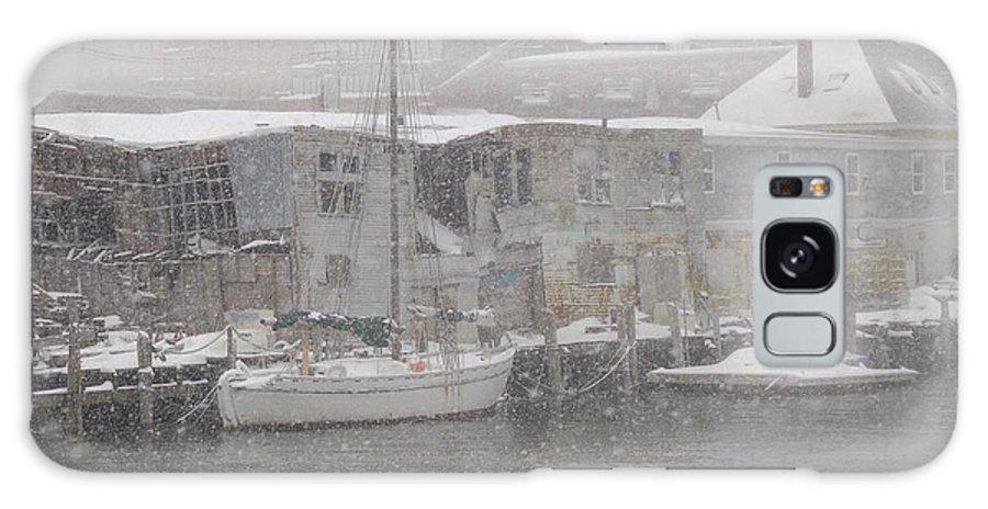 Sail Galaxy S8 Case featuring the photograph Pier In Disrepair by Faith Harron Boudreau