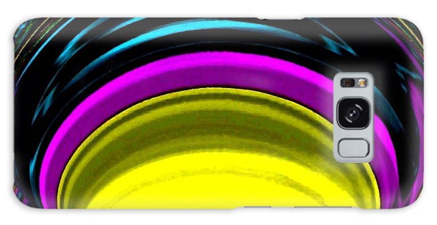 Light Galaxy S8 Case featuring the digital art Pillar Of Light by Will Borden
