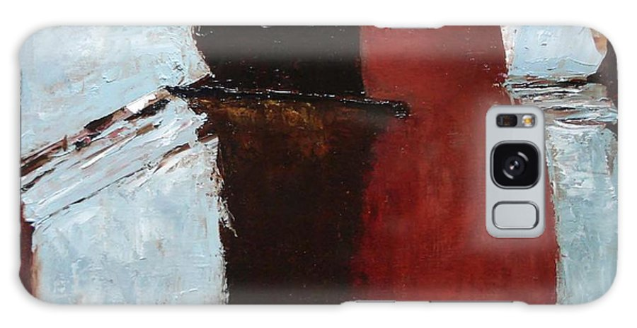 Pillars Galaxy Case featuring the painting Pillars Of Society by Barbara Andolsek