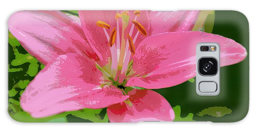 Marla Mcpherson Galaxy S8 Case featuring the photograph Pink Asiatic Lily by Marla McPherson