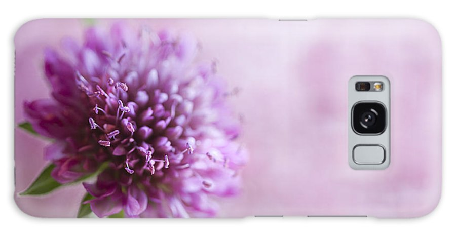 Pink Galaxy S8 Case featuring the photograph Pink Bokeh by Rebecca Cozart