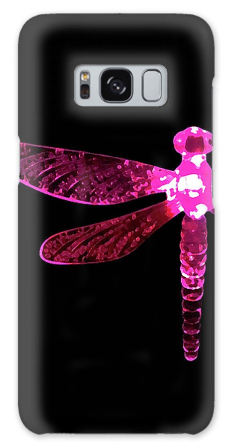 Pink Dragonfly Galaxy S8 Case