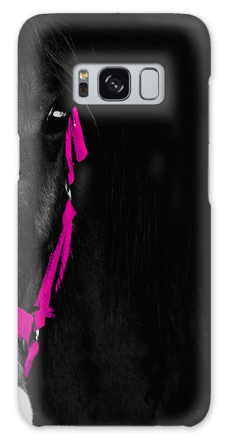 Pink Galaxy S8 Case featuring the photograph Pink Halter by Hannah Breidenbach
