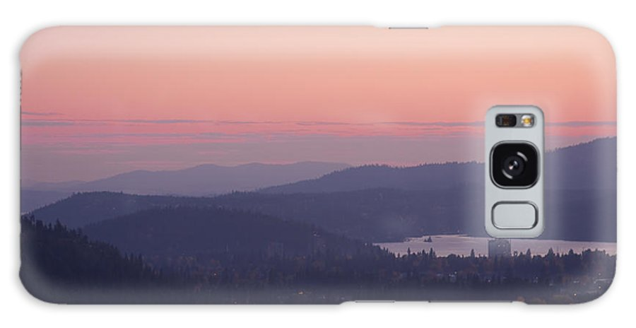 Pink Galaxy S8 Case featuring the photograph Pink Twilight by Idaho Scenic Images Linda Lantzy