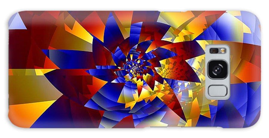 Pinwheel Galaxy S8 Case featuring the digital art Pinwheel by Ron Bissett