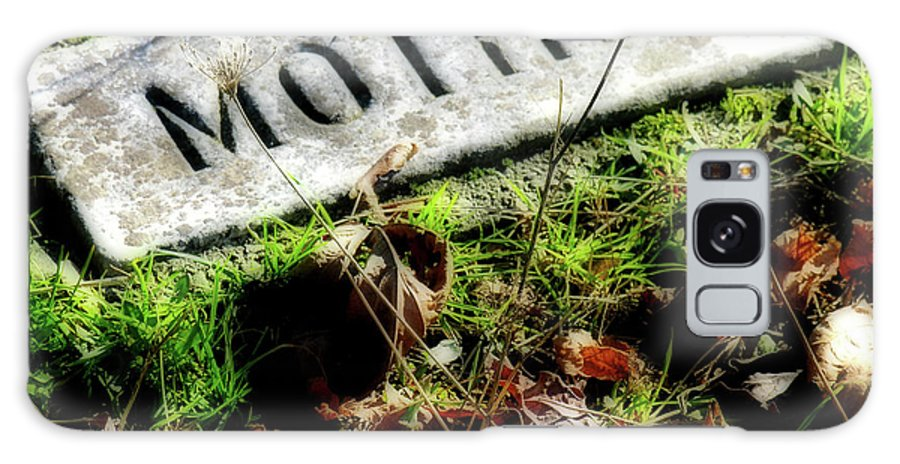 Pioneer Cemetery Galaxy S8 Case featuring the photograph Pioneer Grave by Bonnie Bruno