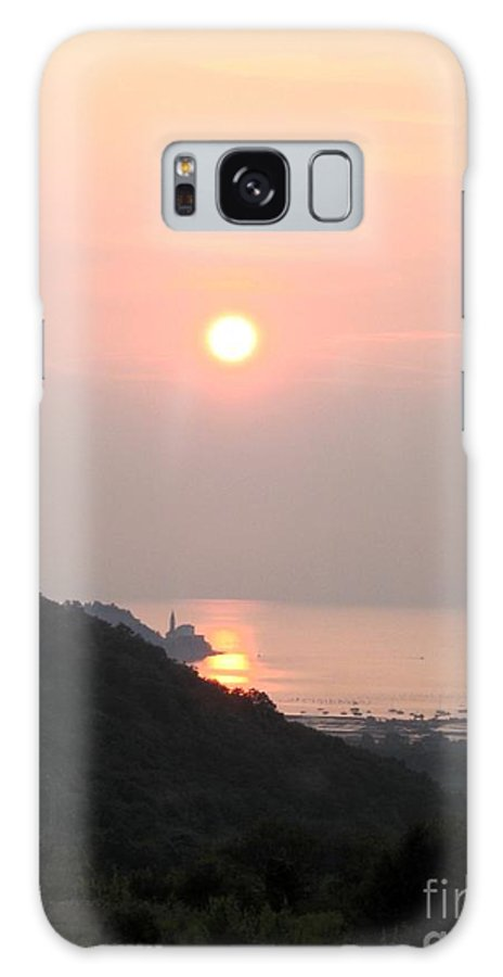 Sunset Galaxy S8 Case featuring the photograph Piran's Sunset II by Dragica Micki Fortuna