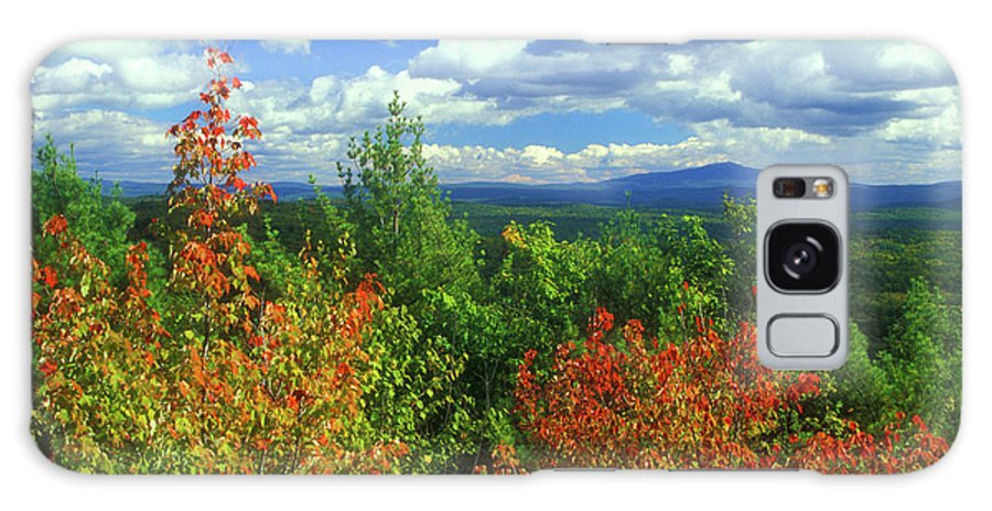 New Hampshire Galaxy S8 Case featuring the photograph Pisgah State Park Foliage by John Burk