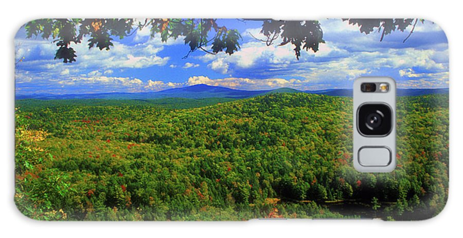 New Hampshire Galaxy S8 Case featuring the photograph Pisgah State Park Ridge Trail View by John Burk
