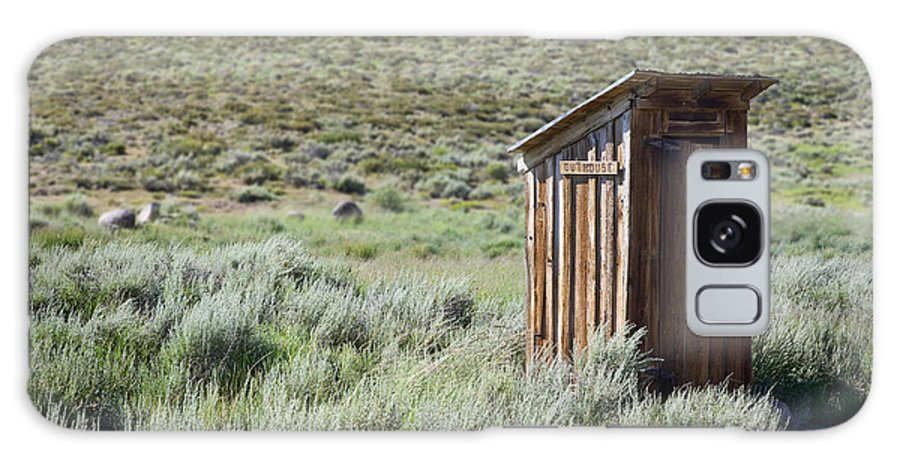Outhouse Galaxy S8 Case featuring the photograph Pit Stop by Kelley King