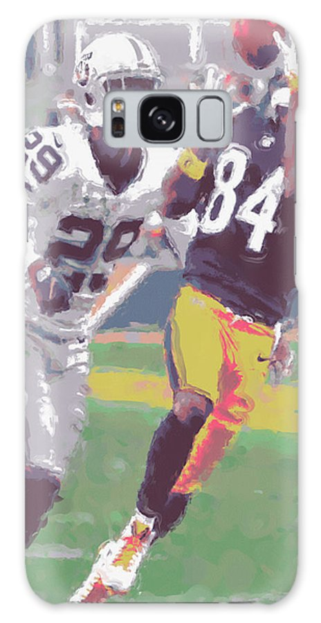 Pittsburgh Steelers Galaxy S8 Case featuring the photograph Pittsburgh Steelers Antonio Brown 1 by Joe Hamilton