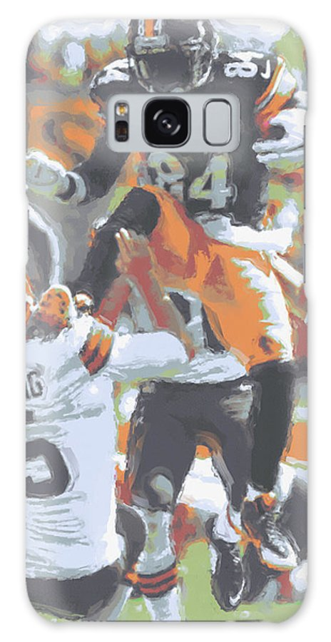 Pittsburgh Steelers Galaxy S8 Case featuring the photograph Pittsburgh Steelers Antonio Brown 4 by Joe Hamilton