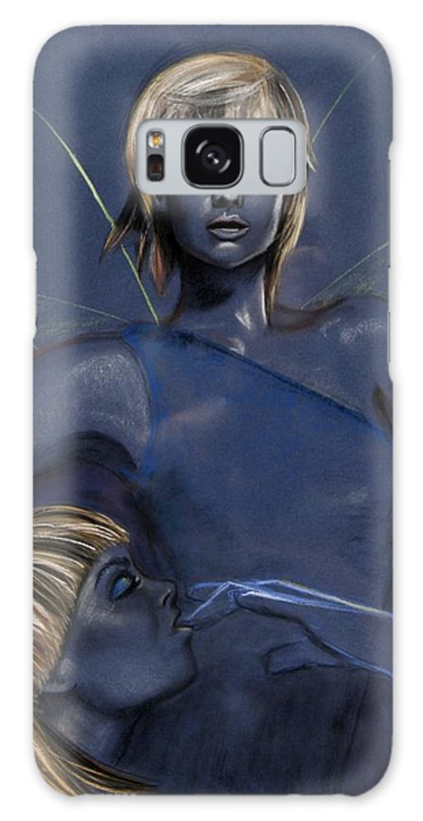 Pixie Galaxy Case featuring the pastel Pixie by Maryn Crawford