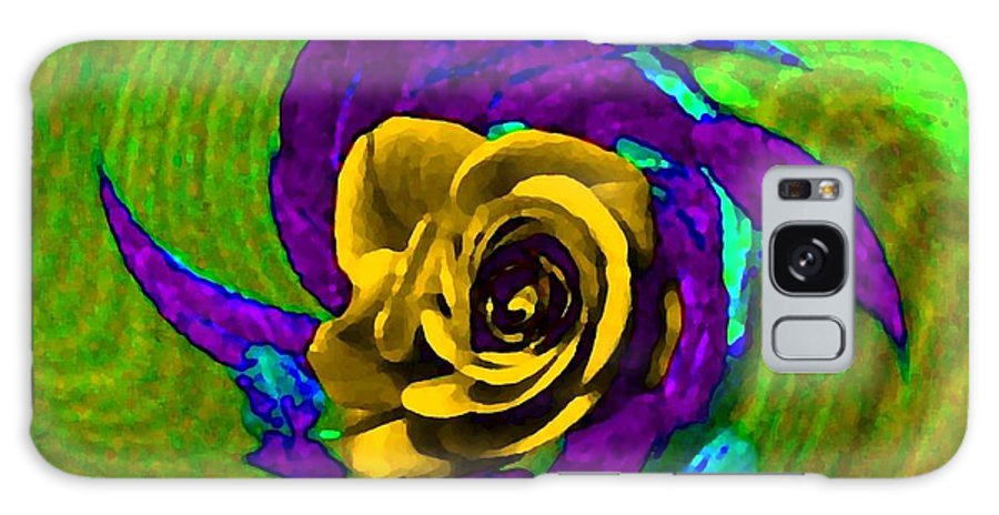 Abstract Galaxy S8 Case featuring the digital art Pizzazz 4 by Will Borden