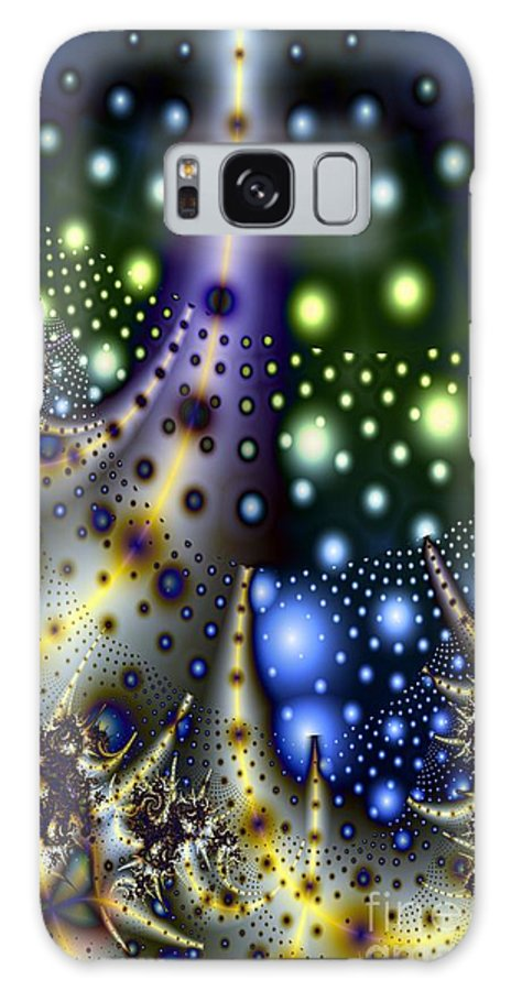 Fractal Galaxy S8 Case featuring the digital art Planet Birthplace by Ron Bissett