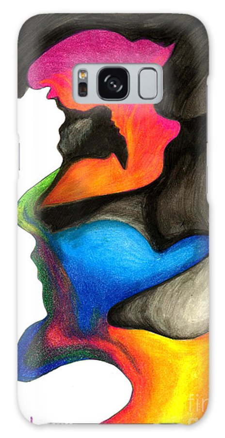 Brigth Colors Galaxy S8 Case featuring the painting Playing With Colors by Fanny Diaz