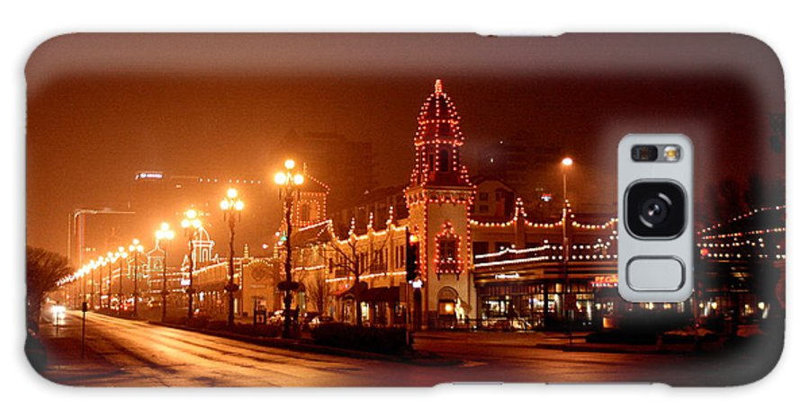 Plaza Galaxy S8 Case featuring the photograph Plaza Lights 47th Street 3 by David Dunham
