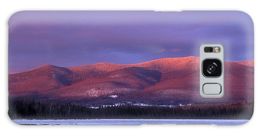 New Hampshire Galaxy S8 Case featuring the photograph Pliney Ridge From Cherry Pond by John Burk