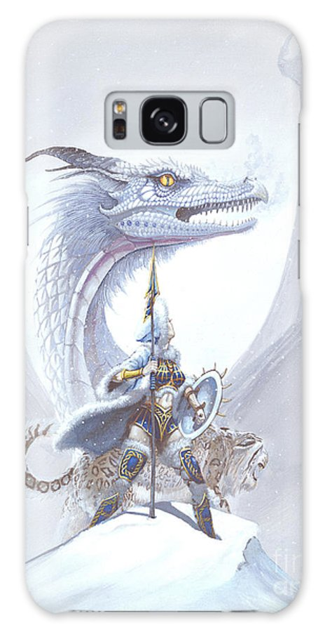 Dragon Galaxy S8 Case featuring the painting Polar Princess by Stanley Morrison