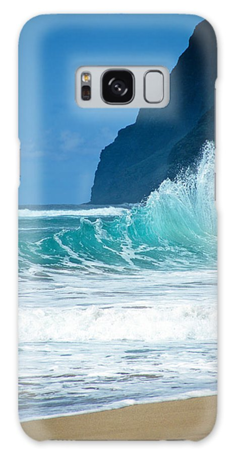 Polihale Beach Galaxy S8 Case featuring the photograph Polihale Beach by Kevin Smith