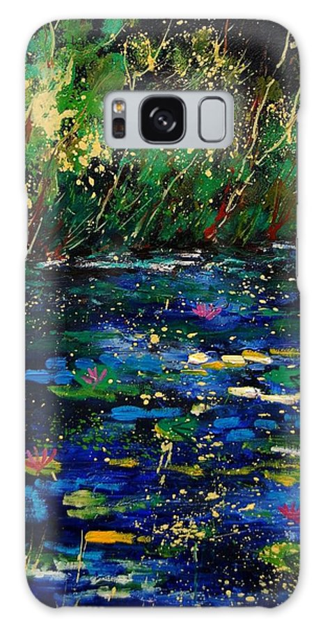 Water Galaxy S8 Case featuring the painting Pond 459030 by Pol Ledent