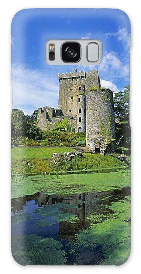 Blarney Castle Galaxy S8 Case featuring the photograph Pond In Front Of A Castle, Blarney by The Irish Image Collection