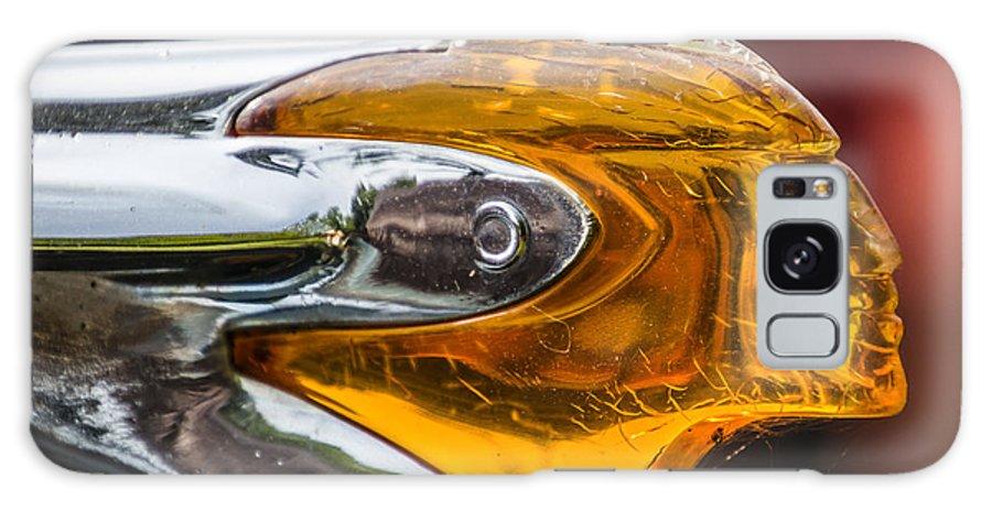 Pontiac Galaxy S8 Case featuring the photograph Pontiac Indian Head Hood by Joann Long