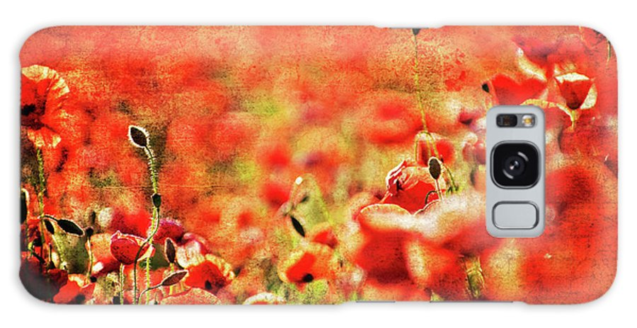 Galaxy S8 Case featuring the photograph Poppies by Meirion Matthias