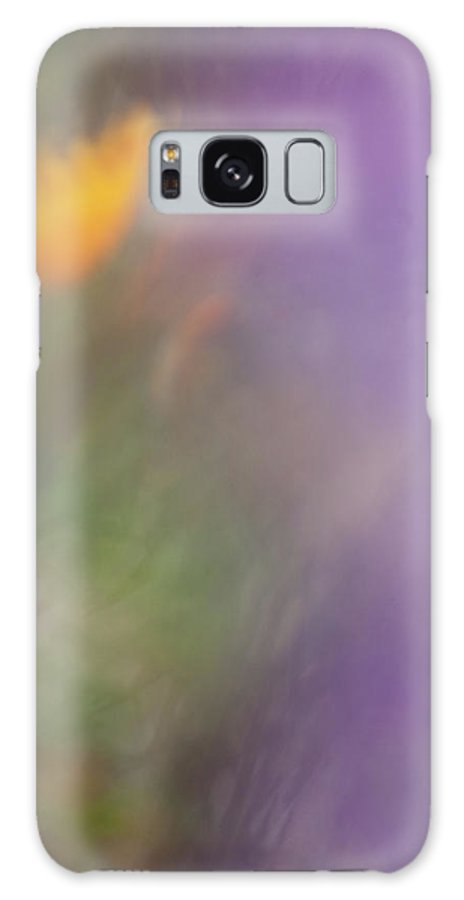 Poppy Galaxy S8 Case featuring the photograph Poppy And Purple Lupine by Roger Mullenhour