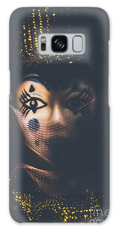 Carnival Galaxy S8 Case featuring the photograph Porcelain Doll. Performing Arts Event by Jorgo Photography - Wall Art Gallery