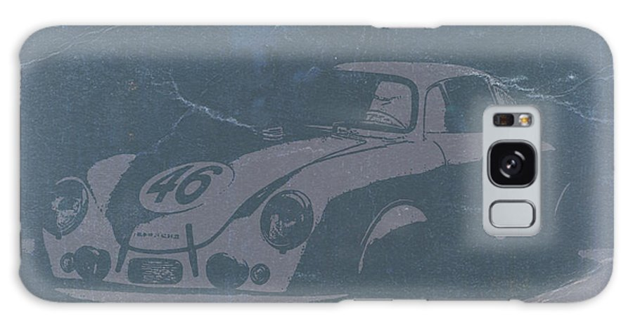 Porsche 356 Coupe Front Galaxy S8 Case featuring the photograph Porsche 356 Coupe Front by Naxart Studio