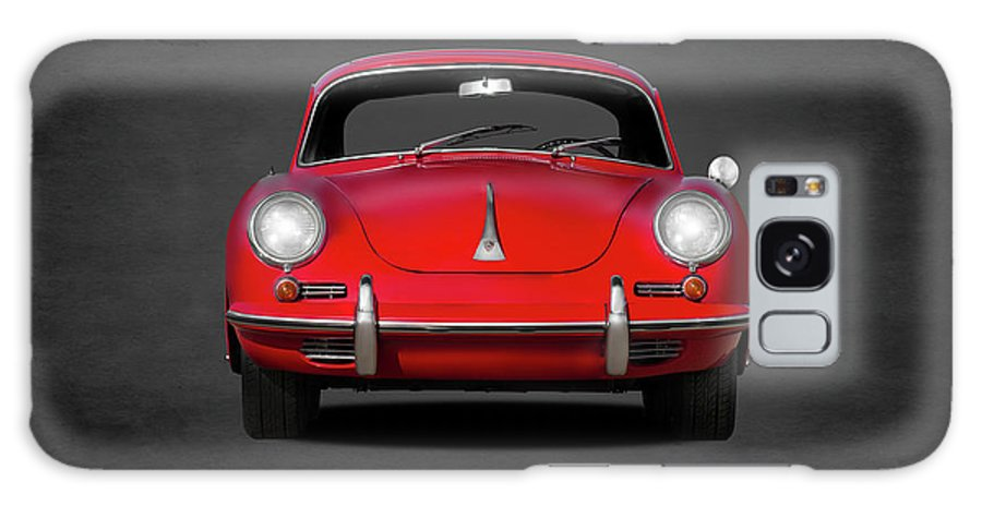 Porsche Galaxy Case featuring the photograph Porsche 356 by Mark Rogan